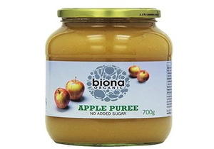 Buy online Biona, Organic Apple Puree (Glass Jar), dubai