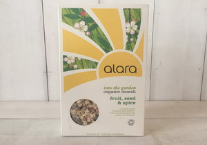 Alara, Organic 'Into the Garden' Fruit, Seed & Spice Muesli