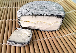 Deena Dairy, Grass-fed Goats Ashed Cheese (UAE made)