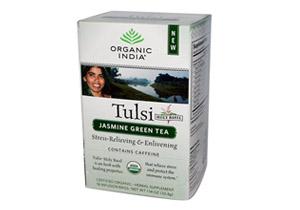 Organic India, Tulsi Jasmin Green Tea