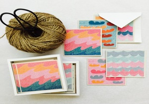 Tribe Handmade Gift Card 'Wave Hello' Collection