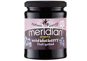 Meridian, Organic Wild Blueberry Fruit Spread