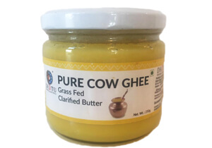 DhaTu, Pure Grass-fed Cow Ghee