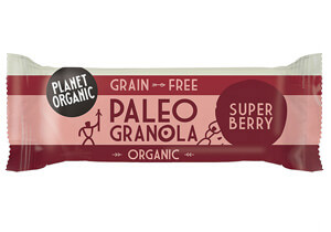 Planet Organic Super Berry Paleo Granola Bar (30g)