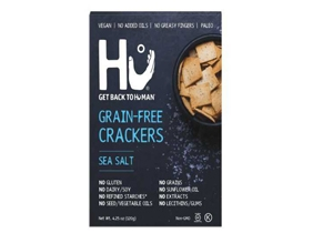 SEA SALT GRAIN-FREE CRACKERS