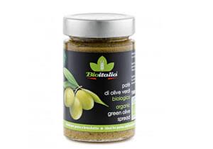 Bioitalia Organic Green Olive Spread