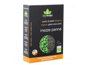 Bioitalia Organic Green Pea Mezze Penne Pasta