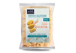 Sottolestelle, Organic Gnocchi with Quinoa (gluten free)