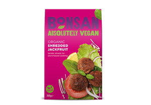 Bonsan Organic Plain Shredded Jackfruit