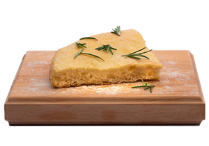 Focaccia with Olive Oil & Rosemary