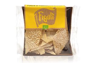 Figuli, Organic Sesame Foglio Crackers